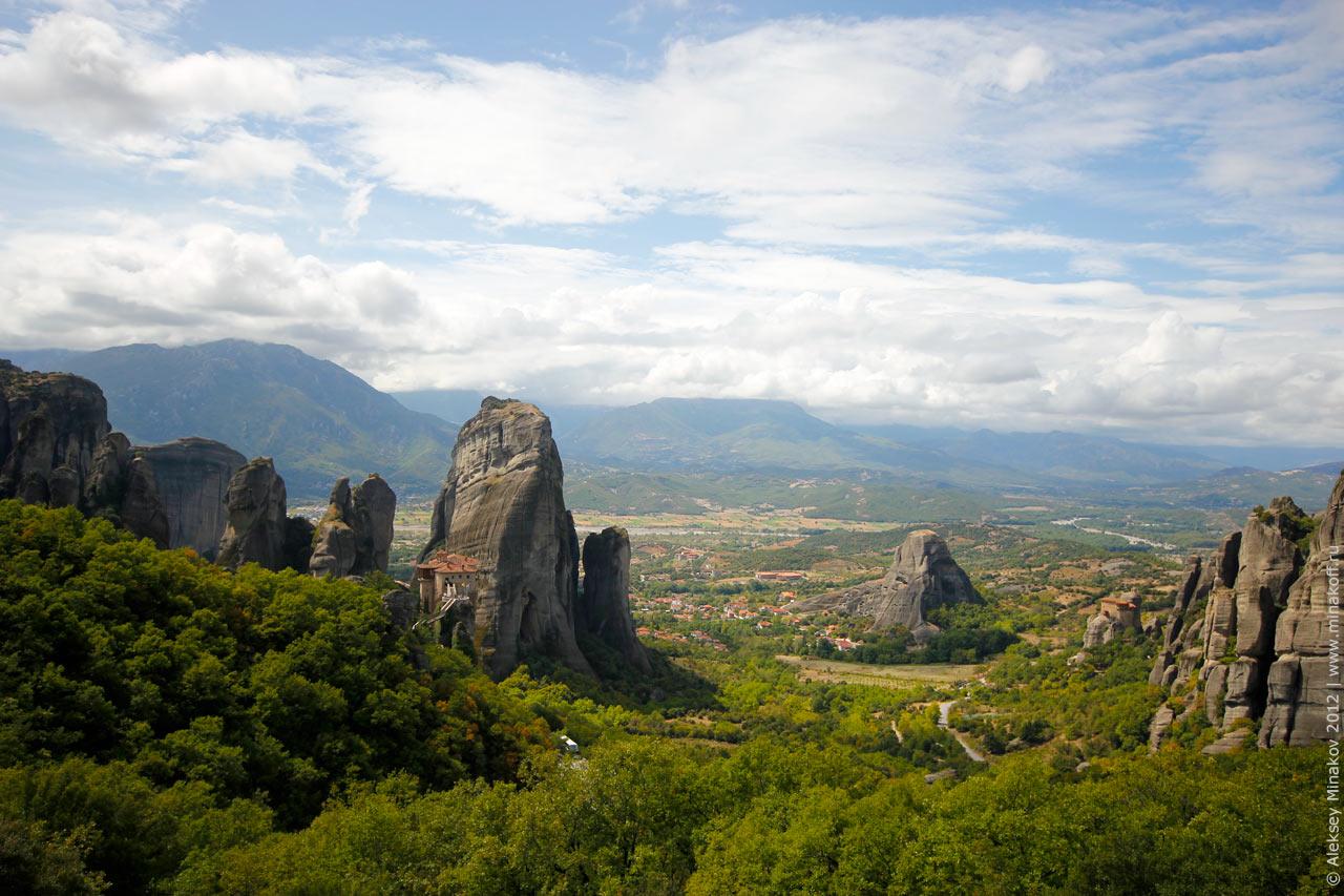 Roussanou Nunnery Meteora Greece